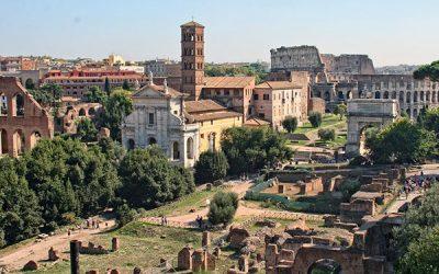 El Foro Romano y el Coliseo