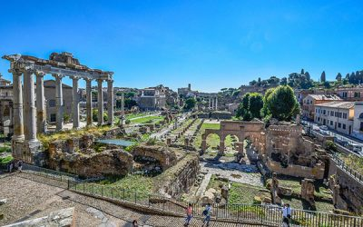 Entrada al Foro Romano