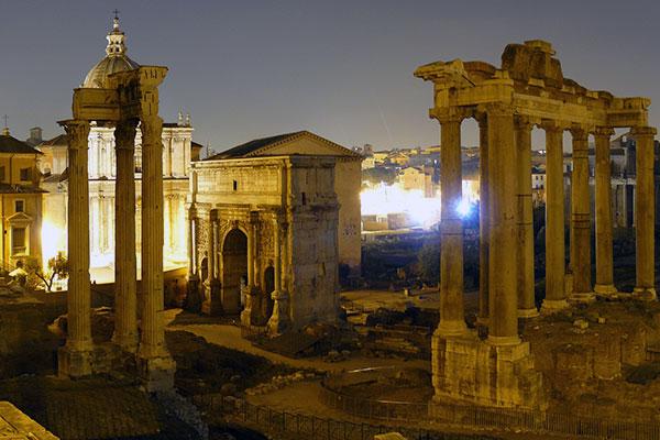 Horario del Foro Romano y Coliseo