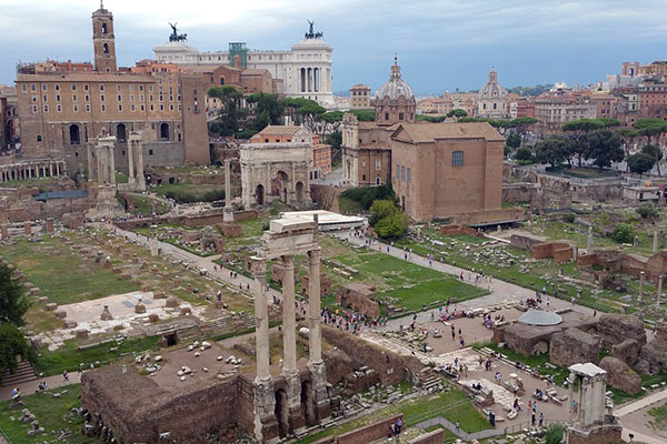 Precio de la entrada al Coliseo y Foro Romano
