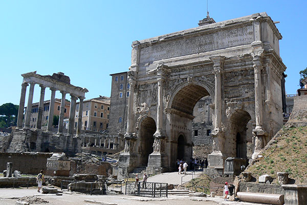 Visita guiada en el Foro Romano